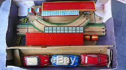 Gem Circuit Super Rallye International Tôle Litho Super État 3 Voitures