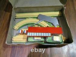 Gem, Circuit Super Rallye croisement jouet vintage jouet mécanique en boite