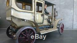 Georges Carette voiture, entre 1905 et 1915, fabriquée en Allemagne/ Carette Car