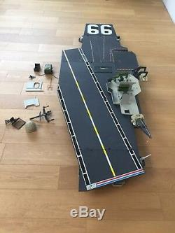 Gi joe USS flagg Aircraft Carrier Porte Avion