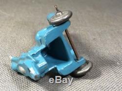 Gonfleur bibendum Michelin Louis Roussy 1930. Accessoire circuit voitures RARE