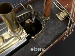 Grand Ketch Aurique Type Radiguet-mamod Jouet Scientique De 1890