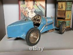Grande Voiture Bugatti Magnifique Jouet Idem Jep Cij Citroën Rare Automobilia