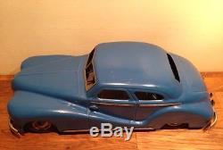 Grande Voiture Delahaye Bleu JEP 7585 jouet en tôle