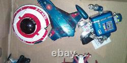 Gros LOT de jouets vintage goldorak ulysse 31 gatchaman albator 1980 popy shogun