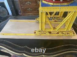 Grue De Mon Enfance Meccano Geant Portuaire Complete Jouet Ancien Jeu