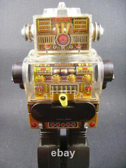 HORIKAWA Piston ROBOT action Battery Operated space toy Japan