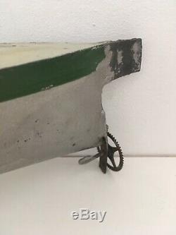 Heller et Coudray Sous-Marin, Ancien Jouet Tôle. Bateau. 39 cm De Long
