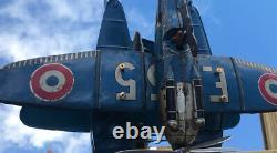 Hydravion JEP en version Bleu F255 jouet en tôle