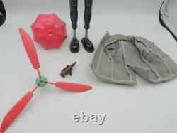 Inspecteur Gadget Bandai Popy 1983 Jouet Vintage