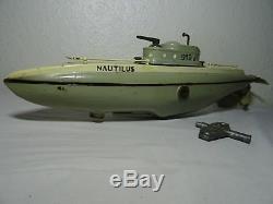 JEP 919 Nautilus sous marin submarine Jouet ancien Original