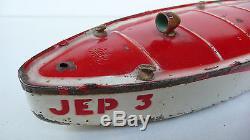 JEP CANOT DE BASSIN JEP 3 AVANT GUERRE 41 cm BON ÉTAT FONCTIONNE