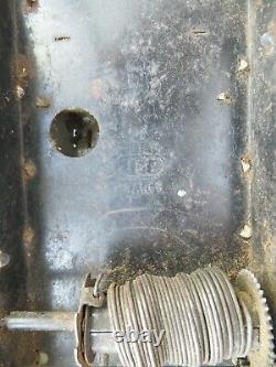 JEP J de P 7378. Hotchkiss moteur mécanique avec chauffeur. RARE. No citroen cij