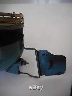 JEP rare Canonnière mécanique en tôle peinte, et lithographiée 29 cm vedette ba
