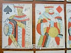 JEU COMPLET 32 CARTES PORTRAIT DE LYON XVIIIème 18ème