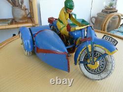 JML Grande Moto Sidecar Etoile Mécanique 35Cm 1930