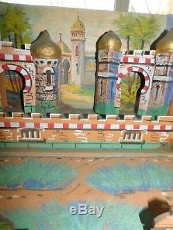 JOUETS ANCIENS RARE, TRES BEAU FORT, PALAIS ORIENTAL de la marque BONDUFOUR