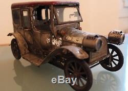 Tôle Carette Limousine 191020 Jouet L 28 Annèes Mécanique Voiture NX8wZ0kOnP
