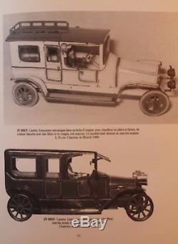 JOUET TÔLE CARETTE Voiture LIMOUSINE mécanique Annèes 1910/20 L 28 cm vitres