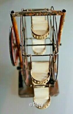 JOUET TÔLE grande roue ERNST PLANK Accessoire machine à vapeur Ferris wheel 1900