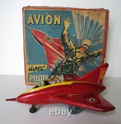 JOUSTRA AVION Pilote Ejectable 1950s LIVRAISON MONDE ENTIER