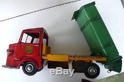 JRD TÔLE CITROEN HY 1200Kg BENNE ENTREPRENEUR BP ENERGOL 38cm ÉTAT DE JEU