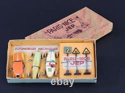 Jep Coffret Paris Nice Automobile De Courses Mecanique Jouets Des Annees 30