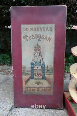 Jeu Ancien Nouveau Toboggan Tournant à Ascenceur Circa 1910 Superbe Etat