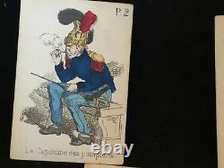 Jeu de la Mariée XIX ème Siècle Jeu de Cartes Antique French Deck of cards 19th