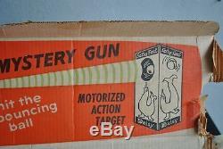 Jeu de tir 1960 en boite cible flottante mécanisme électrique