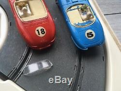 Jouef Circuit Électrique 391 Record 64 Baby Mercedes Jaguar Type E Car Circuit