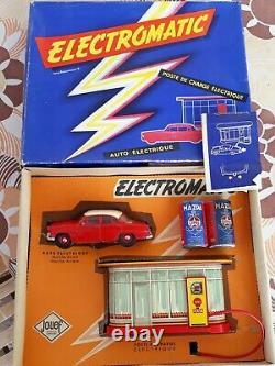 Jouef Rare Coffret Simca Versailles Electromatic Station Service Shell 1/32