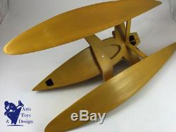 Jouet Am Authentic Models Speedboat Bateau De Vitesse En Bois De 1930 68cm