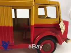 Jouet Ancien Bois Joujoulac Citroen Tube H1200 42cm Vers 1960 Etat Exceptionnel