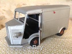 Jouet Ancien Camion En Tôle Type HY Citroën marque CHR 35cm Top