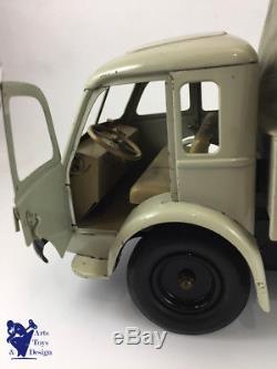 Jouet Ancien Cij 6/31 1/10° Camion Renault Bache Tole Electrique Av Boite
