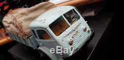 Jouet Ancien Cij Camion Renault Bache Tole