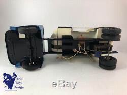 Jouet Ancien Cij Europarc Ref 9/31a Camion Tole Saviem Ciment Bleu Avec Boite