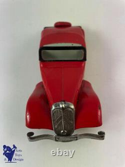 Jouet Ancien Citroen 49 Traction Avant Roadster 1/25 Mecanique Vers 1934 Superbe