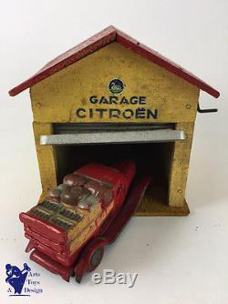 Jouet Ancien Citroen Garage Citroen Pour 1/43° Vers 1933