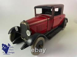 Jouet Ancien Citroen Ref 60 Cabriolet C4 1/13° 31cm 1929/1934 Superbe Etat