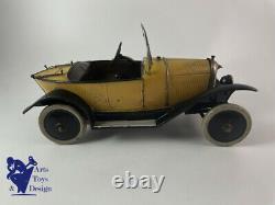 Jouet Ancien Citroen Ref 61 Torpedo 5hp 1er Type Cul De Poule Trefle 1923 1/10°