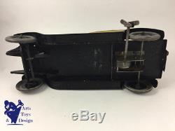 Jouet Ancien Citroen Ref 67 1/10 Voiture Tole Mecanique Torpedo Brocanteuse