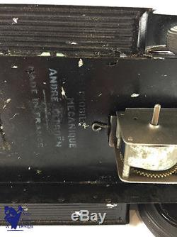 Jouet Ancien Citroen Ref 68 1/10° Voiture Tole C4 Torpedo Familial 1930 Superbe