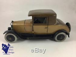 Jouet Ancien Citroen Ref 70 1/10° Voiture Tole Mecanique B14 Faux Cabriolet 1927