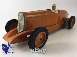 Jouet Ancien Citroen Ref 75 1/10° Voiture Record Tole Rosalie V 1934