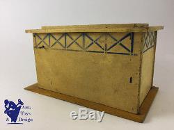 Jouet Ancien Citroen Ref 805 Garage Citroen Pour Voiture 1/25° Vers 1933
