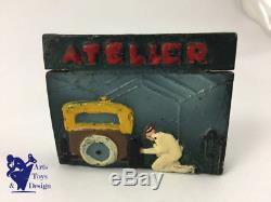 Jouet Ancien Citroen Reference 955 Atelier Platre Et Farine Pour 1/43 Vers 1933