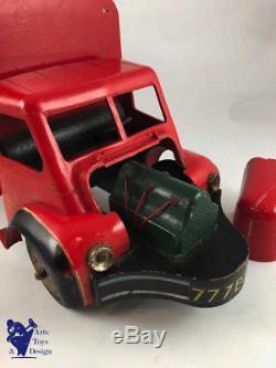 Jouet Ancien Clairbois Camion Bois Berliet Lustucru 56cm No Dejou Wood Truck