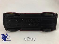 Jouet Ancien Daiya Japan Citroen 2cv Tole Friction Vers 1960 21cm
